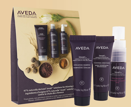 FREE 3-Piece Invati Haircare S...