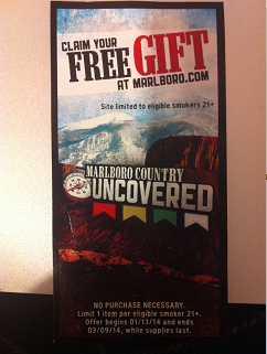 Free Gift by joining Marlboro Country Uncovered Promo - Snag Free