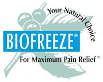 FREE Biofreeze Pain Relieving.