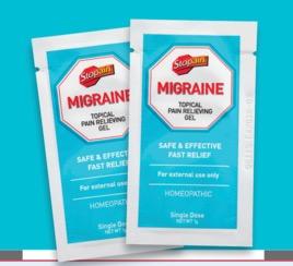 FREE Stopain Migraine Relief S...