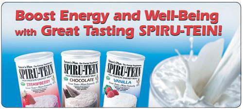 FREE Spiru-Tein Protein Sample...