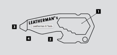 FREE Leatherman 6 Pocket Tool.