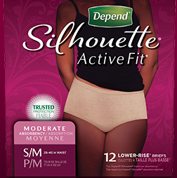 FREE Depend Silhouette Active.