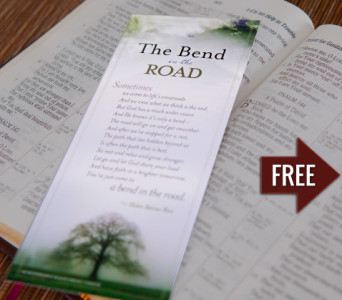 FREE Bend in the Road Bookmark...