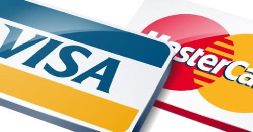 FREE Mastercard & Visa...