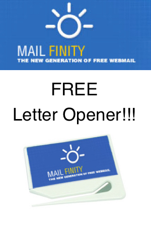 free letter opener from mailfinity snag free samples