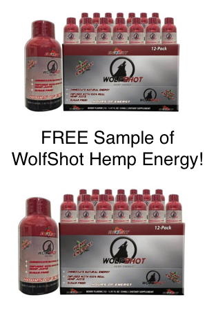 Snag a FREE sample of WolfShot energy drink today! - Snag