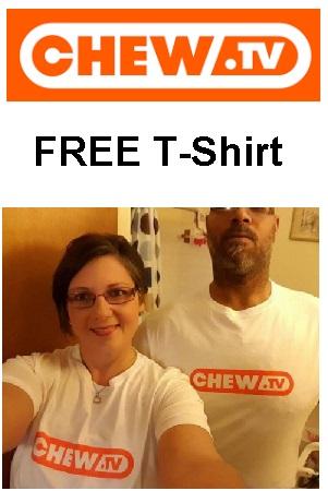 ChewTVFREETShirt