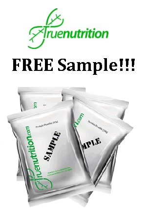 FREE True Nutrition Pea or Whe...