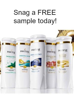 FREE Pantene Shampoo Samples & Coupons! - Snag Free Samples