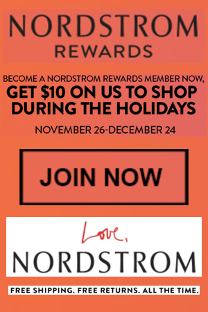 At this time, Nordstrom coupon codes are hard to come by, however you can get over a 20% off discount by shopping Nordstrom's sale and clearance section. In the meantime, if you see Nordstrom coupon codes that supposedly work on clothing, shoes, home items and other non-beauty shopping categories, it probably isn't valid.