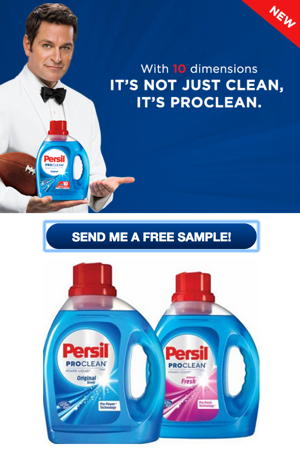 FREE Persil ProClean Laundry Detergent Sample - Snag Free Samples