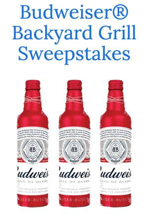 Budweiser 'Backyard Grill' Sweepstakes - Snag Free Samples