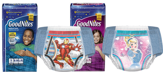 Goodnites Bedtime Pants