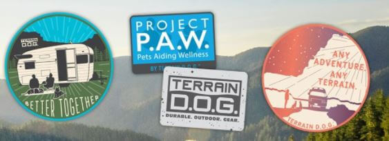 Terrain D.O.G Stickers